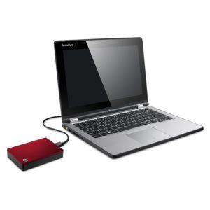 Externe Festplatte 4TB an Laptop geschlossen